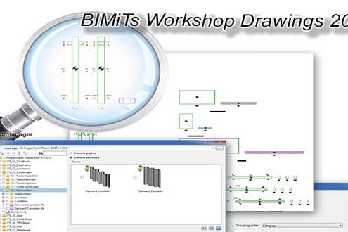 دانلود پلاگین BIMiTs Workshop Drawings 2017 در رویت .ایران بیم