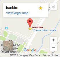 iranbim- googlemap ایران بیم در نقشه گوگل