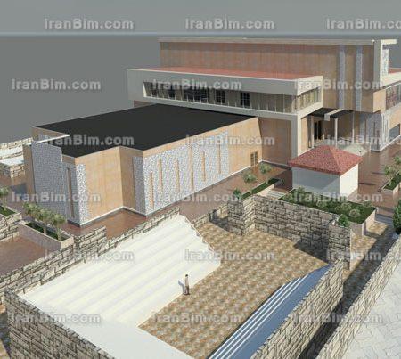 Revit cinema پروژه و مدل آماده رویت