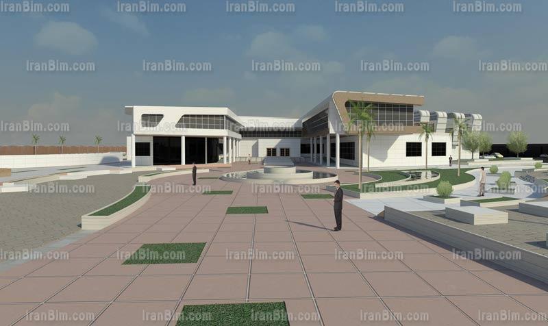 دانلود پروژه آماده رویت رندر تالار شهر 5