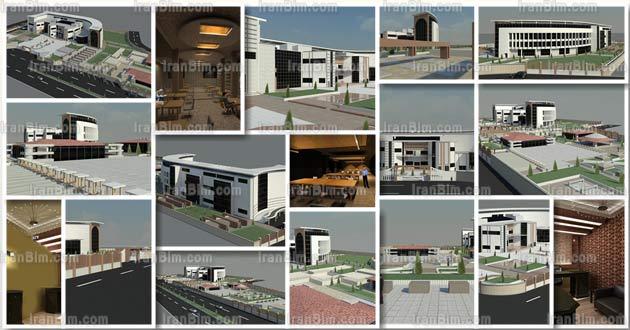مدل آماده رویت دانشکده معماری