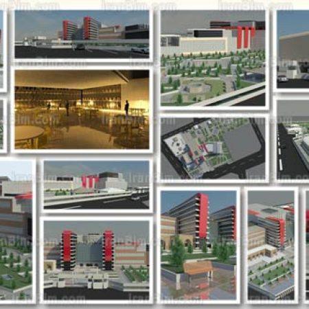دانلود رساله معماری پروژه آماده رویت خلاقانه و حرفه ای مجتمع تجاری ( پاساژ )
