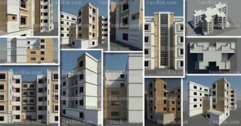 دانلود پروژه معماری رویت رساه مجتمع-مسکونی