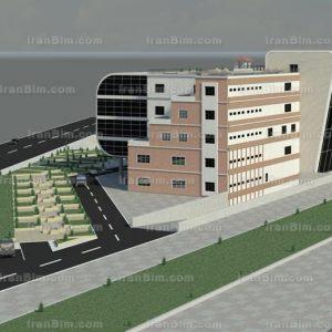 دانلود پروژه و رساله معماری آماده زیبا و حرفه ای مجموعه هتل 5 ستاره