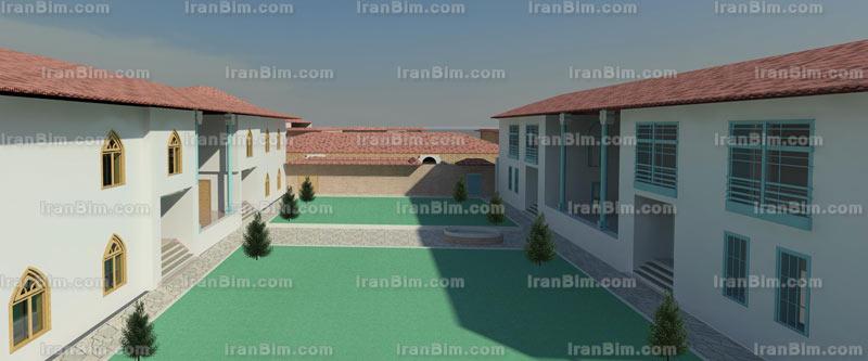 دانلود پروژه خانه فرهنگ گیلان پروژه آماده رویت رساله معماری