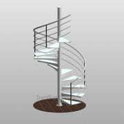 دانلود فمیلی پله پیش ساخته حول یک محور SP1