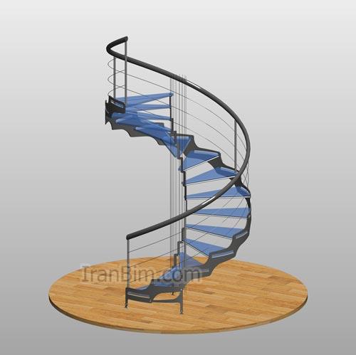 دانلود فمیلی پله چرخشی SP4 گرد
