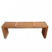 نیمکت چوبی مدل ایزم