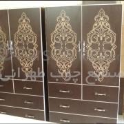 کمد دیواری صنایع چوبی طهرانی