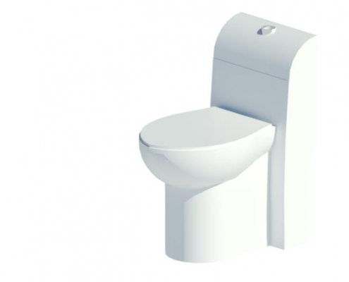 توالت فرنگی ویستا 63 واتر جت
