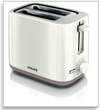 فمیلی توستر نان Philips Toaster HD-2595 شرکت فیلیپس