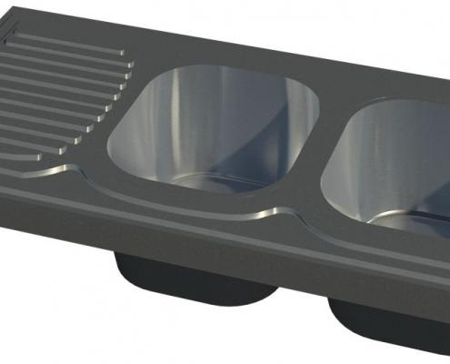 سینک ظرفشویی مدل 134