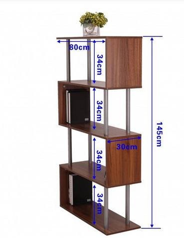کتابخانه دکوری اداری خانگی مدل نوین