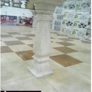 میز پایه سنگی- کد 228- شرکت تزئینات سنگ قائم