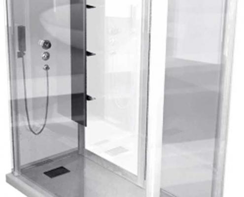 حمام-شیشه-ای---دور-دوشی-KINEDO