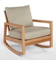 صندلی گهواره ای ،راک ، شومینه، مدل R02 صنایع چوب منصور