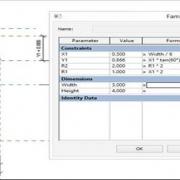 آموزش طراحی فمیلی های خمیده و فرمول نویسی