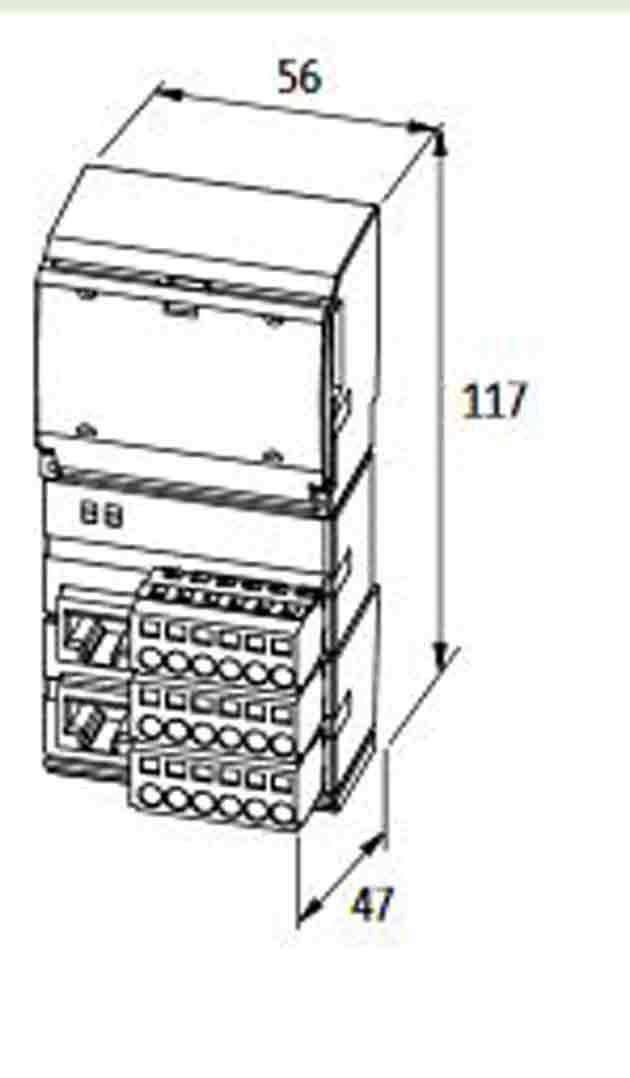 ماژول ورودی و خروجی Cube20،شرکت murr elektronik