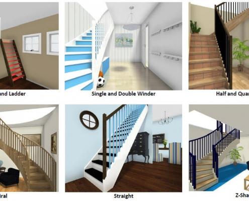 مدلسازی انواع پله در نرم افزار رویت ( Revit )