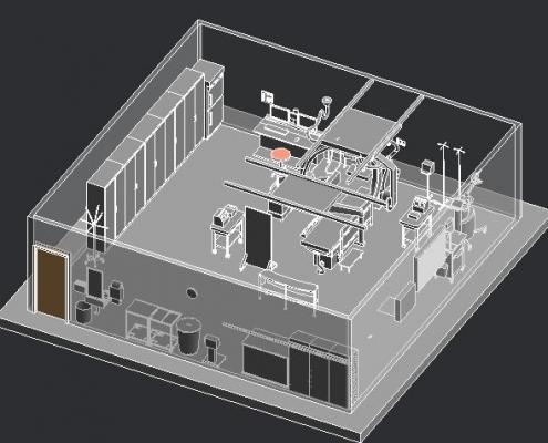 مدل آماده Revit رادیو گرافیXABP1