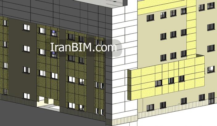 ایجاد پارت در دیوار و یا عناصر دیگر در REVIT Architectural با استفاده از ابزار parts create