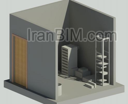 مدل آماده رویت اتاق سرور فمیلی
