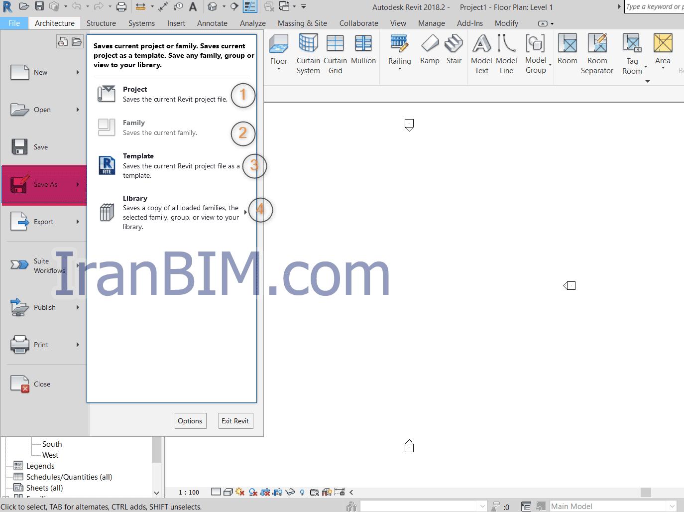 Save az: ذخیره فایل با نام و مکان مشخص