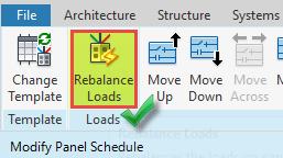 گزارش گیری از تابلو برق رویت مپ تصویر 3 Rebalance Loads