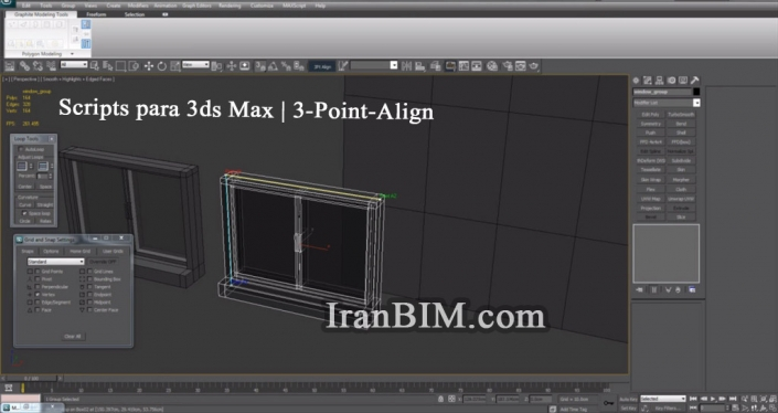 Scripts para 3ds Max | 3-Point-Align