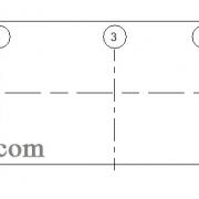 خطوط آکس در نما نرم افزار Revit