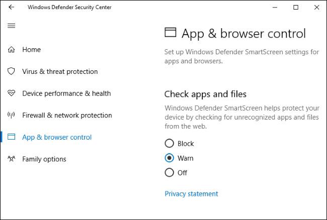 عبارت Windows Defender Security Center را از زیرشاخه Windows Administrative Tools