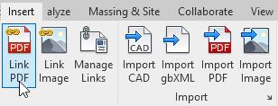 لینک کردن PDF و تصاویر