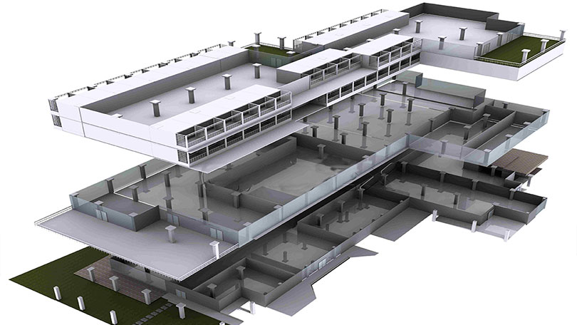 IPD BIM Architecture modeling 01