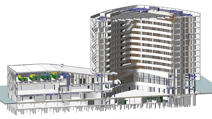 IPD BIM Architecture modeling 02