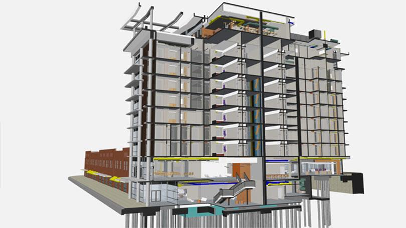 IPD BIM Architecture modeling 03