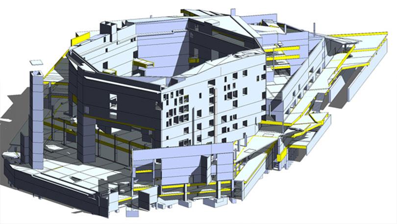 IPD BIM Architecture modeling 04