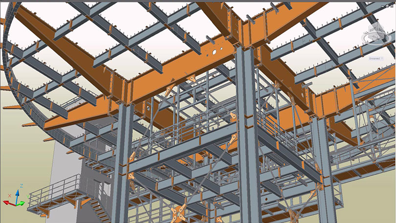 IPD BIM Structural Modeling 04