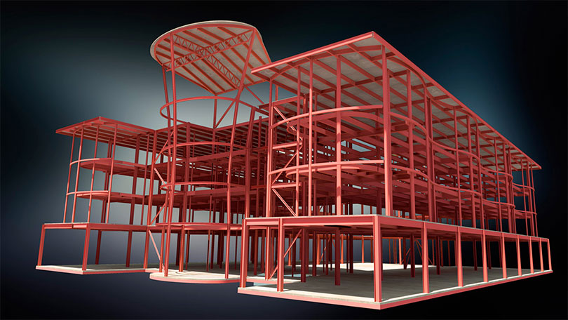 IPD BIM Structural Modeling 06